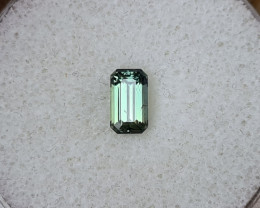 1,14ct Teal green to grass green colour change Sapphire - Master cut!