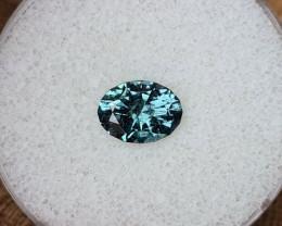 1,82ct Greenish blue Indicolite Tourmaline - Master cut!