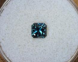 0,85ct Teal/blue to grass green colour shift Sapphire - Master cut!