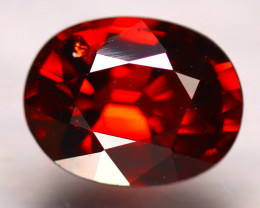 Almandine 2.07Ct Natural Vivid Blood Red Almandine Garnet E2002/B26