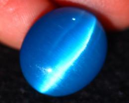Agate Cat Eye 10.83Ct Natural Blue Agate Cat Eye E2029/C1