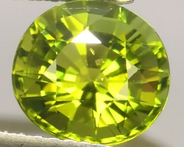 2.20 cts Attractive Natural green Tourmaline Gemstone Oval Shape