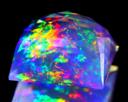 ContraLuz 9.98Ct Precision Cut Mexican Very Rare Species Opal C2112