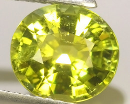 2.05  cts Attractive Natural green Tourmaline Gemstone Oval Shape