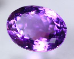 11.17t Natural Purple Amethyst Oval Cut Lot GW8710