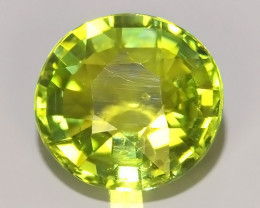 1.30 cts Attractive Natural green Tourmaline Gemstone Oval Shape