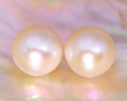 8.0mm 7.25Ct Natural Australian South Sea Creamy White Pearl B2203