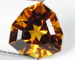 5.06Cts Stunning Natural Citrine Trillion Custom Cut Loose Gemstone