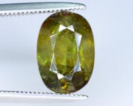 Top Fire 2.60  ct  Chrome Sphene Jewelry Piece