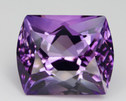 24.00 Cts  Top color Fancy cut Natural  Amethyst Gemstone