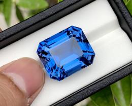 Santa Maria Color Aquamarine Gemstone - 36.75 Carats