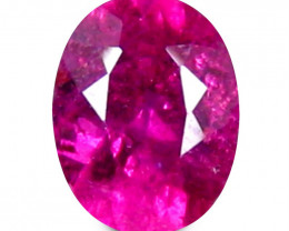 Rubilite 0.72 Cts  Pink Portuguese cut BGC1437 | From Brazil