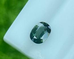 Sapphire 0.41 Cts  Green step cut BGC2121 | From Thailand