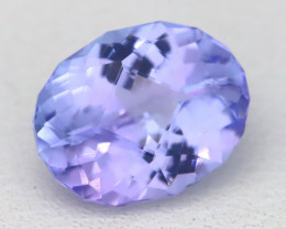 Tanzanite 2.33Ct VVS Master Cut Unheated Purplish Blue Tanzanite A2310