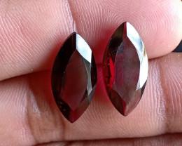 18 x 9 mm Garnet Gemstone 100% NATURAL AND UNTREATED VA208