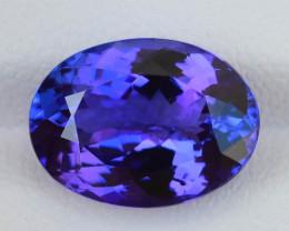 Electrifying 6.40 ct AAA Color Tanzanite SKU-38