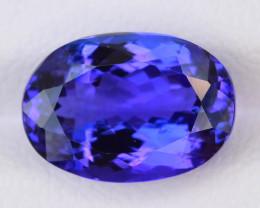 D'Block Tanzanite 6.30 ct Royal Blue Color SKU-38