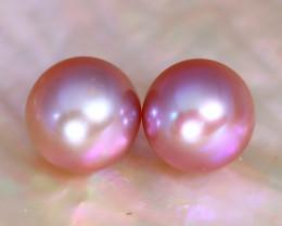 7.6mm 5.84Ct Natural Australian South Sea Pink Color Pearl C2324