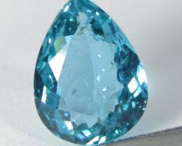 3.99Cts Genuine Fantastic Paraiba Blue Green Color Apatite Loose Gem REF VI