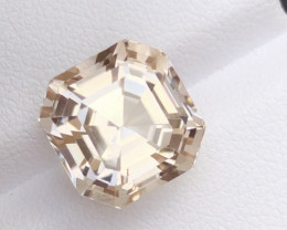 Brilliant Cut Topaz Untreated 11.60 Ct from Himalaya