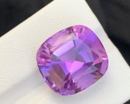 22.20 Carats fancy cut amethyst gemstone