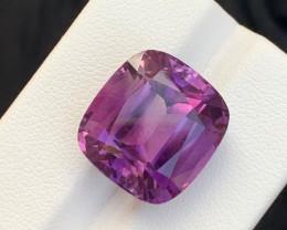 8.30 Carats fancy cut amethyst gemstone
