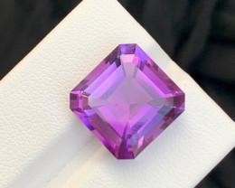 11.20 Carats fancy cut amethyst gemstone