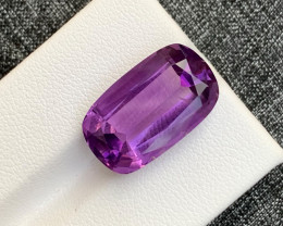 12.75 Carats fancy cut amethyst gemstone