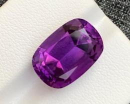 10.50 Carats fancy cut amethyst gemstone