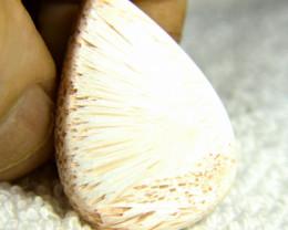 35.37 Carat Scolecite Pendant Stone - Goregeous