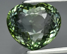 5.04 Natural Earth Mined Top Quality  Unheated Green Tourmaline, Mozambique