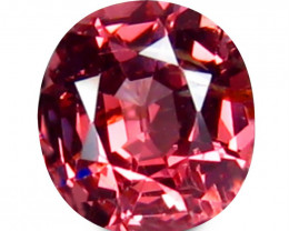 Spinel 0.63 Cts No Heat Pink Step cut BGC2546 | From Burma