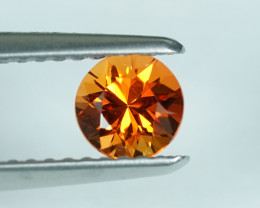 .63CT mm+ NATURAL ORANGE SAPPHIRE with TOP FIRE $1NR!