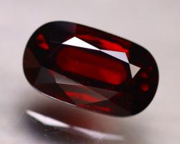 Almandine 4.20Ct Natural Vivid Blood Red Almandine Garnet E2201/B26