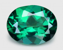 Green Topaz  4.88 Cts Excellent Natural Loose Gemstones