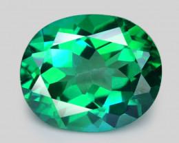 Green Topaz  9.60 Cts Sparkling Natural Topaz Gemstones