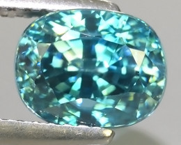 4.30 CTS AWESOME SPARKLE NATURAL RARE BEST BLUE ZIRCON~EXCELLENT!
