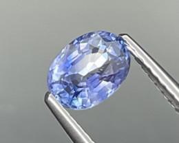 1.04 Cts Srilanka Cornflower Blue AAA Quality Natural Sapphire
