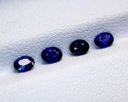 0.99Crt Blue Sapphire Lot Natural Gemstones JI54