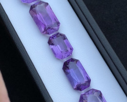Amethyst Natural Lot 18.60 ct Fantastic Attractive Pieces Ring Size Parcel