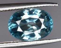 1.96 CTS Top Blue Zircon Gem