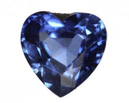 0.15cts Natural Australian Blue Sapphire  Heart Shape