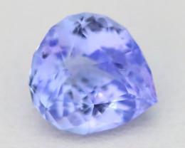 Tanzanite 1.82Ct VVS Master Cut Unheated Purplish Blue Tanzanite C2501