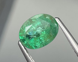 1.17 Cts Vivid Green Fine Quality Natural Zambian Emerald