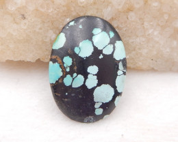 D1701 - 40cts Lucky Turquoise, Handmade Gemstone, Turquoise Cabochons, Luck