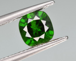 Natural  Green Chrome Diopside 1.23 Cts