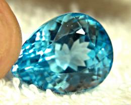 29.33 Carat Blue Brazil Topaz - Gorgeous