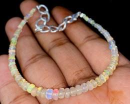 14.25 Crts Natural Ethiopian Welo Opal Bracelet 124