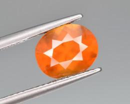 Natural Hessonite  Garnet 2.62 Cts Lovely Fanta Color