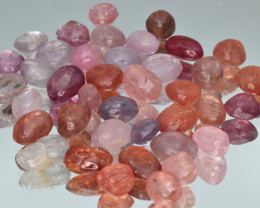 100.84 Cts Natural Spinels Multicolr Polished Tumbled Lot